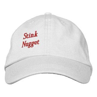 Stink Nugget Personalized Adjustable Hat Embroidered Baseball Cap