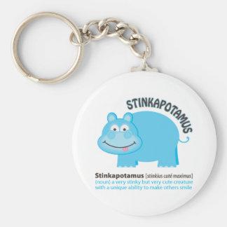 Stinkapotamus Key Ring