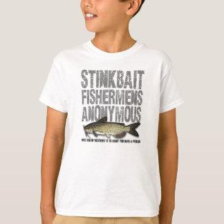 Stinkbait Fishermens Anonymous T Shirts
