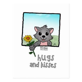 Stinker the Skunk (Pathway Pet) Postcard