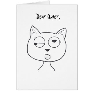 Stinkeye Dead Squirrel Card