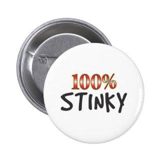 Stinky 100 Percent Pins