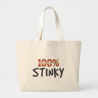 Stinky 100 Percent Tote Bags