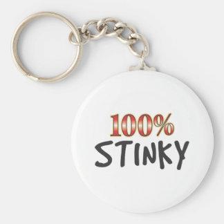 Stinky 100 Percent Keychains