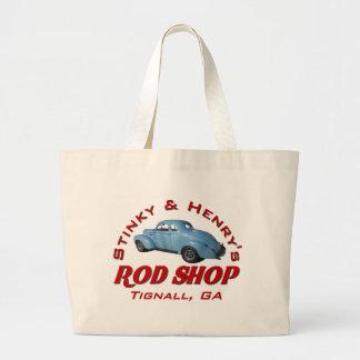 Stinky and Henrys Rod Shop Tote Bag
