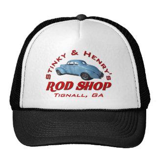 Stinky and Henrys Rod Shop Mesh Hat