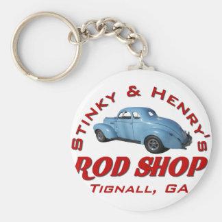Stinky and Henrys Rod Shop Key Chains