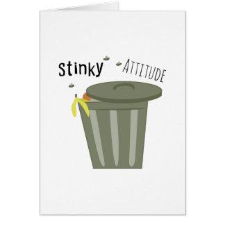 Stinky Attitude Cards