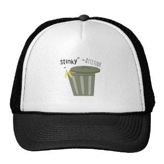 Stinky Attitude Mesh Hats