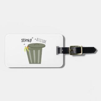 Stinky Attitude Bag Tags