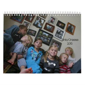 Stinky Cheese 2010 Wall Calendars