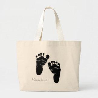 Stinky Feet!! Jumbo Tote Bag