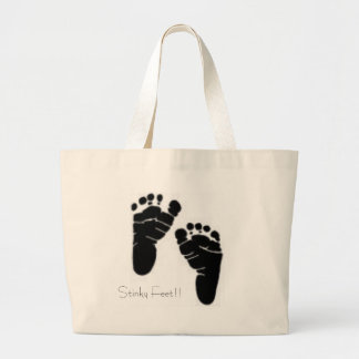 Stinky Feet Tote Bags