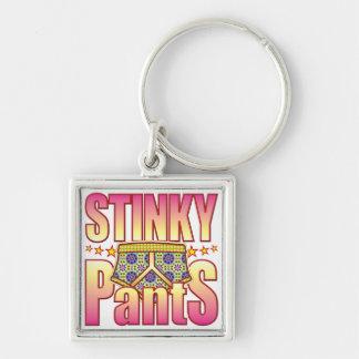 Stinky Flowery Pants Key Chain