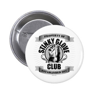Stinky Glove Club (Hockey) 6 Cm Round Badge