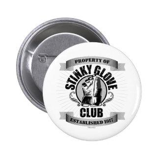 Stinky Glove Club (Hockey) 6 Cm Round Badge