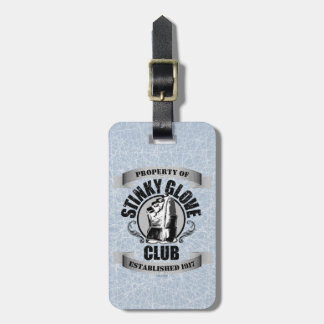 Stinky Glove Club (Hockey) Bag Tag