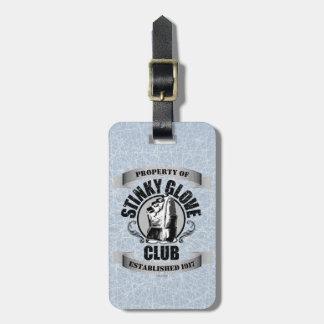 Stinky Glove Club (Hockey) Luggage Tag