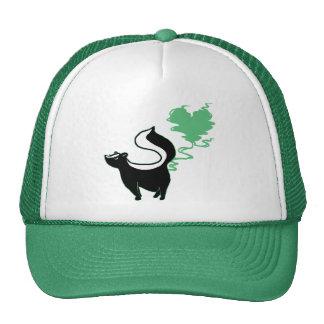 Stinky Love Skunk Mesh Hats