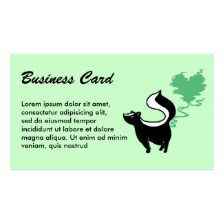 Stinky Love Skunk Pack Of Standard Business Cards