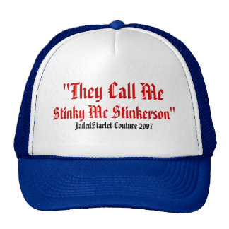 Stinky McStinkerson Jadedstarlet mens or womens ha Cap