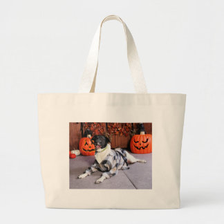 Stinky - Mixed Breed - Farber Tote Bags