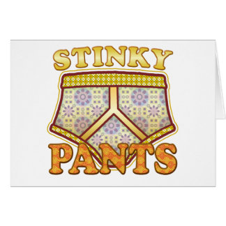 Stinky Pants Greeting Card