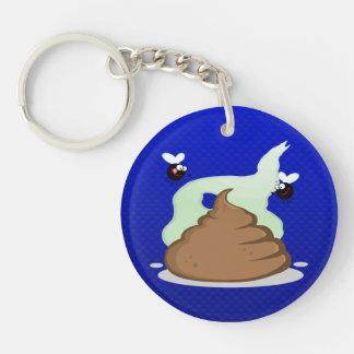 Stinky Poo; Blue Key Chains