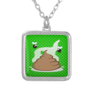 Stinky Poo Green Custom Necklace
