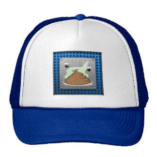 Stinky Poo; Metal-look Trucker Hat