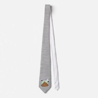Stinky Poo; Metal-look Tie