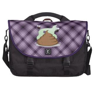 Stinky Poo; Purple Commuter Bags
