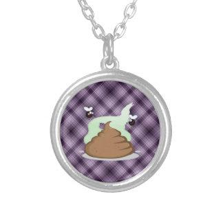 Stinky Poo Purple Necklace