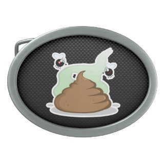 Stinky Poo Sleek Belt Buckle
