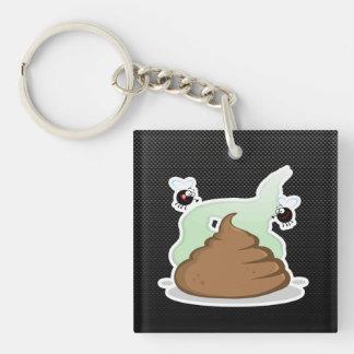 Stinky Poo; Sleek Acrylic Key Chains