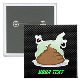 Stinky Poo Sleek Pinback Button