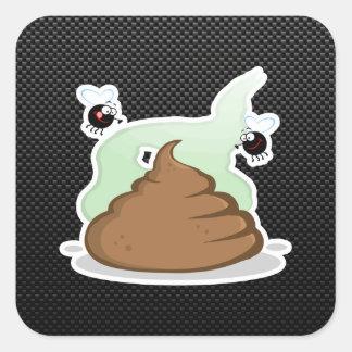 Stinky Poo Sleek Stickers