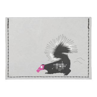 Stinky Skunk Tyvek Card Holder Wallet Case Tyvek® Card Case Wallet