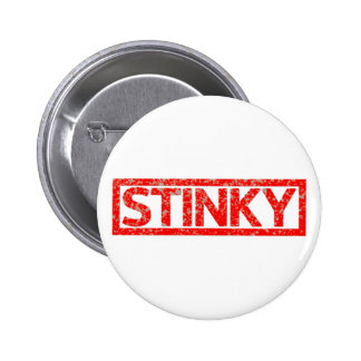 Stinky Stamp 6 Cm Round Badge