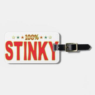 Stinky Star Tag Bag Tag