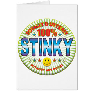 Stinky Totally Cards