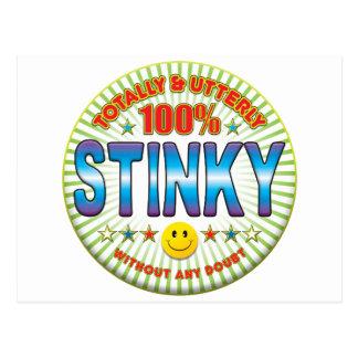 Stinky Totally Postcard