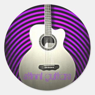 Stinni guitars sticker
