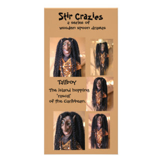 Stir Crazies Blank Photo Card