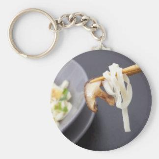 Stir Fry with Mushrooms Keychain