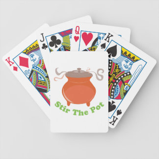 Stir The Pot Bicycle Playing Cards