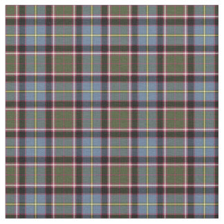 Stirling and Bannockburn Scotland District Tartan Fabric