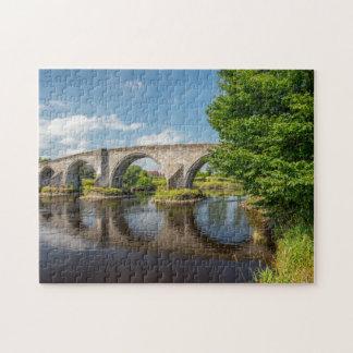 Stirling bridge Scotland. Puzzles