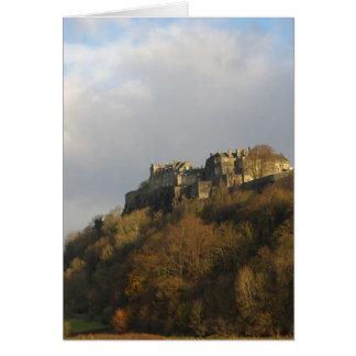 Stirling Castle Card