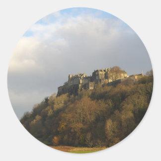 Stirling Castle Classic Round Sticker